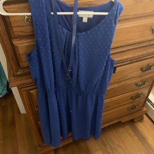 Blue Elle dress